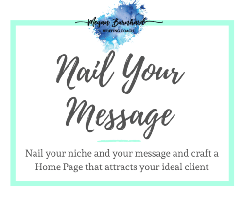 nail your message with megan barnhard