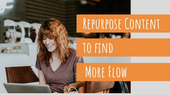 Megan Banrhnard tips to repurpose content