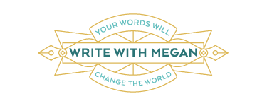 Write with Megan Logo